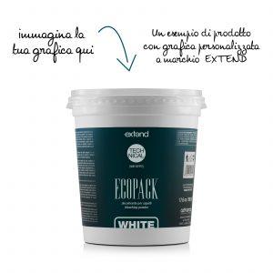 Ecopack bianco 500g